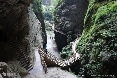 重庆到武隆天生三桥-龙水峡地缝常规团一日游-重庆渝之旅国旅