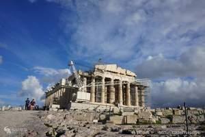 北京到欧洲旅游:希腊,法国12天,法国诺曼底海滨-希腊爱琴海