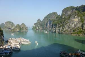 南宁或北海到东兴、越南下龙湾、河内四日游(持护照)全程0自费