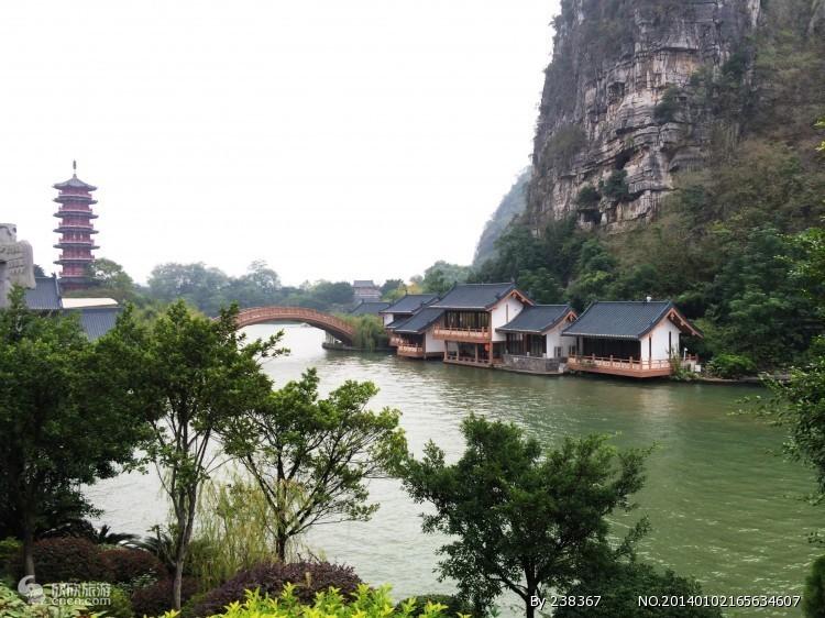 桂林漓江景区_拉市海风景图片