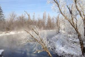 A2哈尔滨、东升穿越雪乡、长白山、镜泊湖冰瀑、魔界滑雪7日游