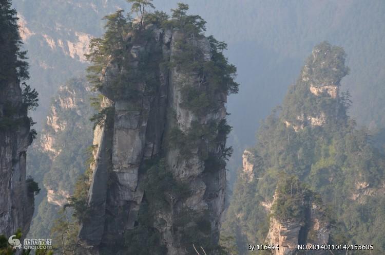 上海到张家界大峡谷-袁家界凤凰古城5个5A景区双卧6日游 H