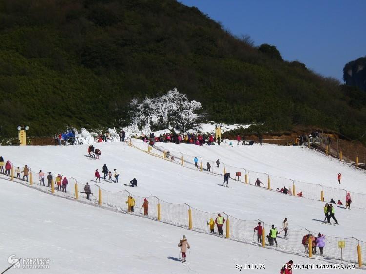 冰雪世界仙女山冬季赏雪、玩雪一日游