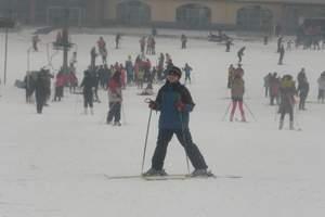 石家庄清凉山滑雪场团购 清凉山滑雪票团购票价 清凉山滑雪1日