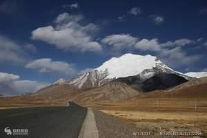 西藏那曲桑丹康桑雪山