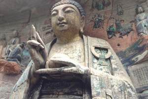 重庆旅游景点大足石刻一日游-感受佛教文化(电话预约上车付款)