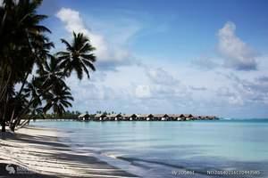马尔代夫-人间天堂埃拉胡岛5晚7天自由行(3沙2水)