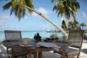 马尔代夫蜜月自由行 洛阳去马尔代夫旅游线路 马代水上屋酒店