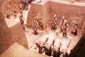 西安本地旅行社推荐_西安旅行社跟团兵马俑、华清池经典一日游