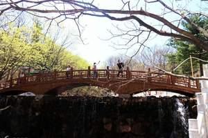 大连金秋赏枫:大连到丹东青山沟、凤凰山、五龙背温泉3日游
