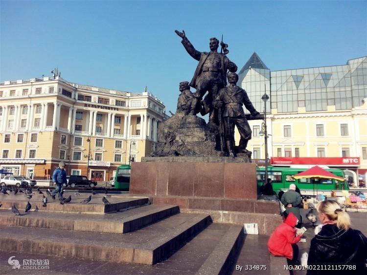 哈尔滨到俄罗斯海参崴6日旅游