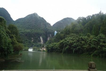 黄果树瀑布、龙宫1天游 贵州旅游 贵阳旅游 贵州租车