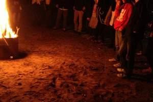 临安清凉峰户外基地野外求生+野炊+篝火晚会一日一夜游