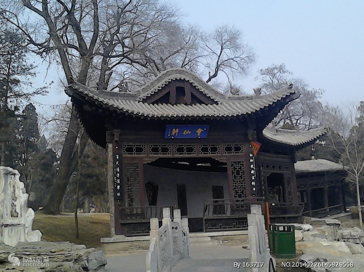 风景图片 山西五台山/查看 太原晋祠公园 详细介绍