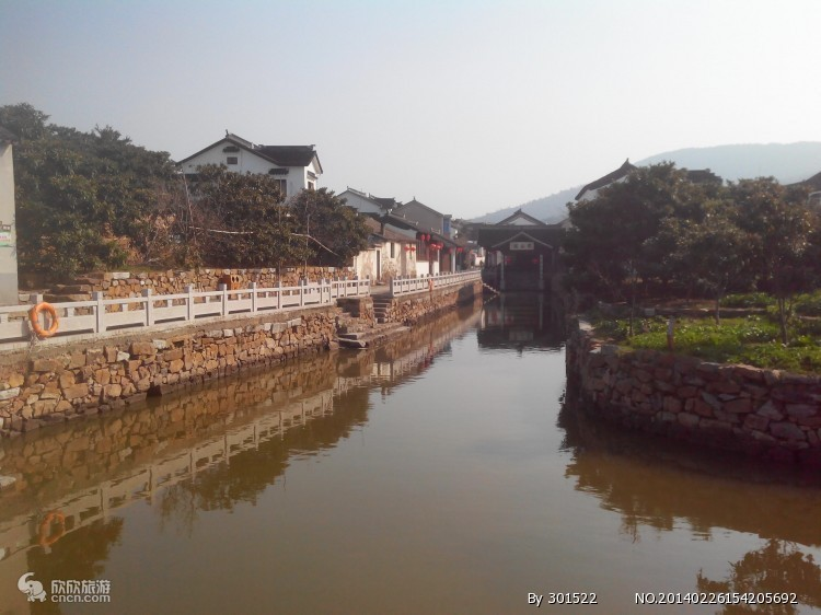 陆巷古镇码头