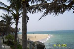 海南好玩的地方都有哪些 亚龙湾沙滩 天涯海角 槟榔谷5日游