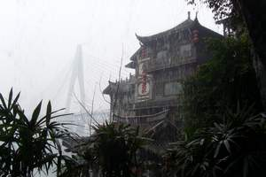 西安到长江三峡旅游线路_重庆洪崖洞、长江三峡大坝双卧6日游