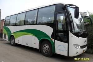 新疆旅游租车-全新33座金龙空调旅游车