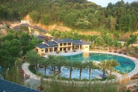 从化龙门地派温泉度假村、流溪河森林公园、玫瑰园景区休闲二天游