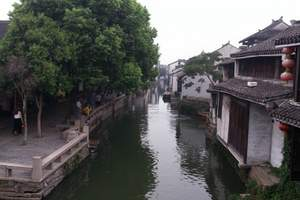 B1华东五市+水城绍兴+三园林+三水乡+中国馆住周庄双飞6日