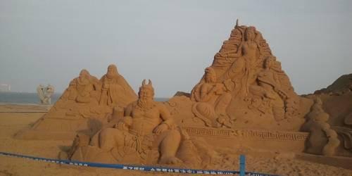 海阳万米海滩浴场