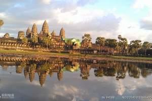 江西南昌到柬埔寨包机旅游_柬埔寨吴哥窟、金边品质直航6日游
