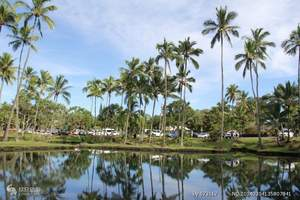 长春到【夏威夷】夏威夷一地五晚八日自由行 长春到夏威夷旅游