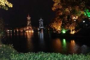 青岛到桂林古东瀑布+四湖+荔江湾+蝴蝶泉+龙脊梯田双飞5日游