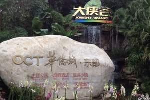 深圳东部华侨城双谷1日游_茶溪谷+大峡谷跟团1日游报价