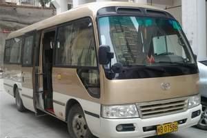 洛阳旅游会议租车 22座丰田考斯特旅游车辆