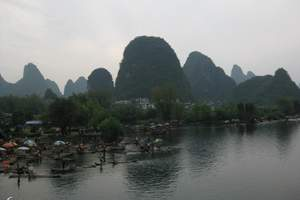 重庆到桂林、漓江、阳朔、北海  双卧八日品质游(桂进南回)