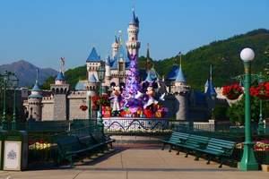 迪士尼门票+机票+酒店4天3晚游国际五星酒店迪士尼2日游门票