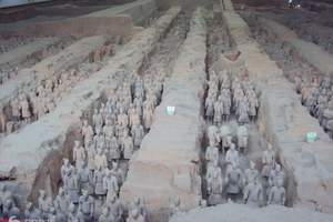 西安到秦始皇兵马俑一日游(含华清池、骊山)二环内免费接送