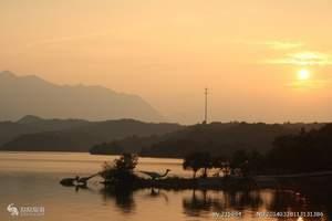 庐山西海(柘林湖)一日游,九江到庐山西湖一日游