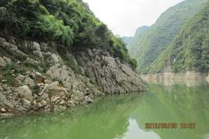 广元到长江三峡旅游 黄金系列涉外船往返5日游(无强制购物)