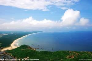 海南三亚天涯+蜈支洲岛+热带天堂五日游(三亚进出)九江到海南