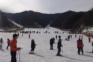 洛阳伏牛山滑雪二日游_伏牛山滑雪+凤翔温泉两日游