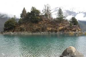 林芝新措徒步三日游(新措—巴松措—大峡谷—索松村--卡定沟)