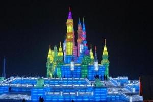 天津到哈尔滨旅游特价游_哈尔滨冰灯_亚布力滑雪动车四日游