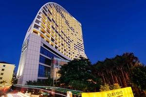 三亚湾酒店预定  三亚湾福朋喜来登度假酒店