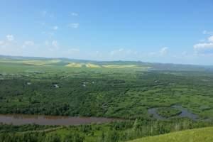 走进边境,呼伦贝尔大草原、根河湿地2日深度自由行(住蒙古包)