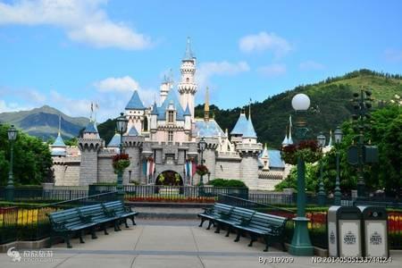 上海迪士尼乐园+华东杭州西湖+西塘、乌镇双水乡高铁4日游