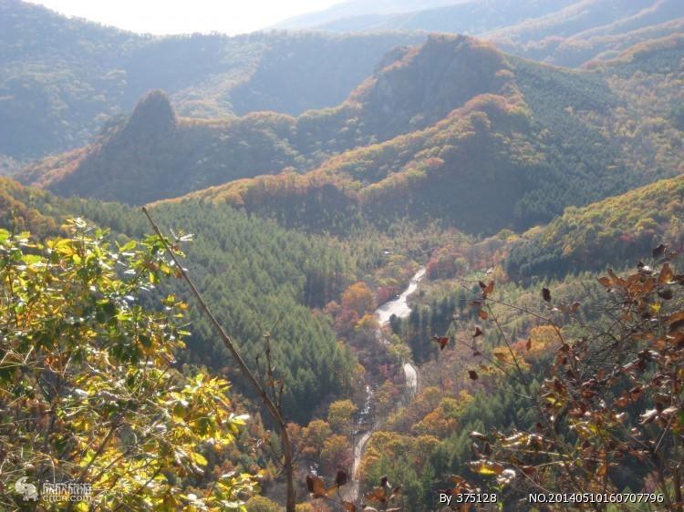 天华山通天峡复看