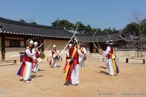 银川出发到韩国首尔+济州岛浪漫7日游