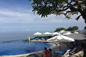 青岛到巴厘岛蜜月旅游 加勒比狂欢乌鲁瓦图金巴兰海滩8日游tj
