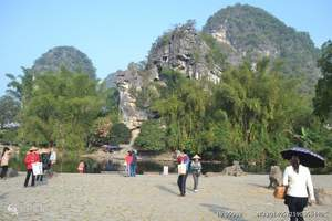 长沙到桂林、尧山、山水间表演、阳朔漓江、象鼻山高铁3日游