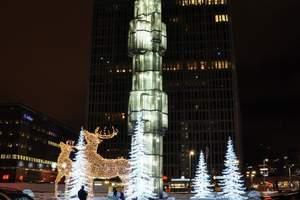 芬兰一地冬季邂逅激光8日 木屋别墅 北青旅 自由行程