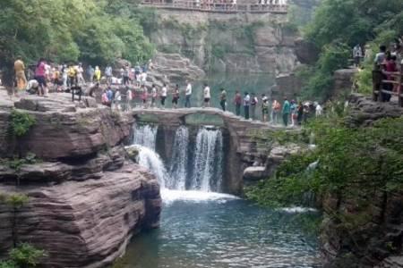 泰安出游推荐-泰安出发到云台山青龙峡大巴三日游|河南景点