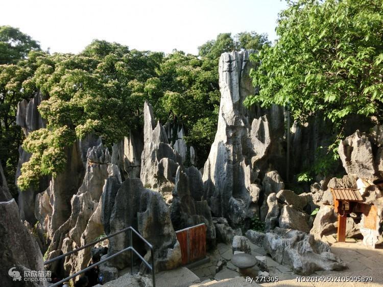 天津远古奇石林风景区