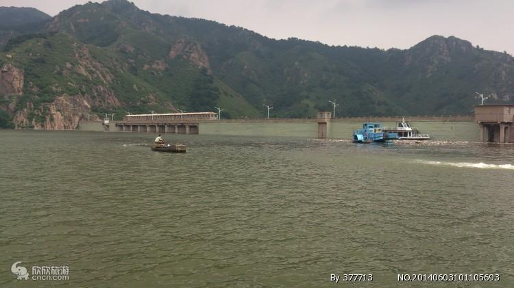 山海关自然风景区燕塞湖(90元 游览约3小时)乘往返索道上山(票已含)
